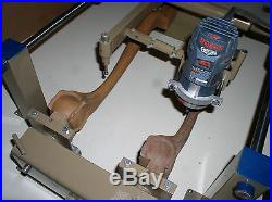 -Wood Carving Duplicator- Large Bosch Router setup