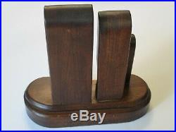Wood Carving Statue Sculpture Abstract Cubism Expressionism Modernist Cubist