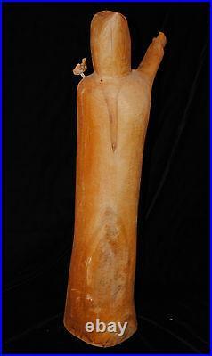 Wood Carving by Leo Salazar, Santos, Taos, New Mexico Folk Art