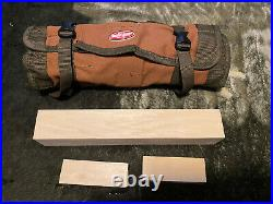 Wood carving lot including flexcut knives. Occ knives and Heineken wood