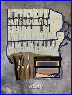 Wood carving tools preowned